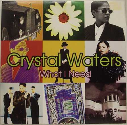 Waters,Crystal -  vinyl records and cds