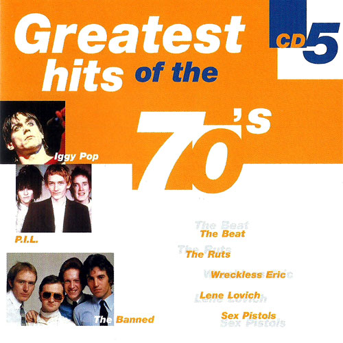C'mon Everybody / Greatest Hits Of The 70's - Cd 5 - sex pistols / Various