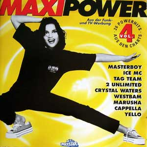100% Pure Love / Maxi Power 4 - Crystal Waters / Various