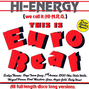 1000 OHM / VARIOUS - you're the one / This Is Euro Beat - CD