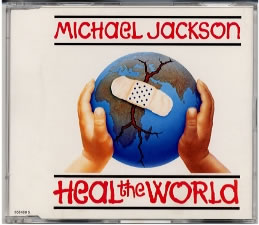 Jackson, Michael - Heal The World [4 Tracks]