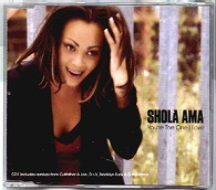 Ama,Shola You're+The+One+I+Love CD:SINGLE