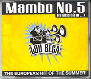 LOU BEGA - Mambo No. 5 [radio Version 3.39 + Extended Version 5.14 + Havanna Club Version 5.48 + Trumpet Mix 6.