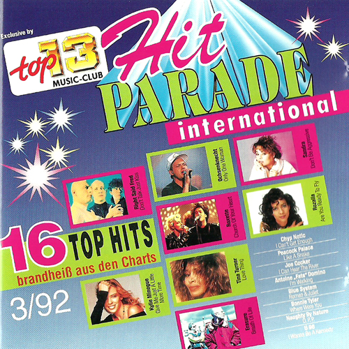 Give Me Just A Little More Time / Hit Parade International 3/92 - Kylie Minogue / Various