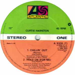 HAIRSTON, Curtis - Chillin' Out Record