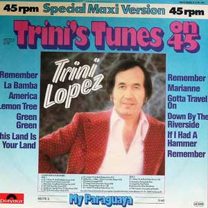 Lopez, Trini - Trini's Tunes On 45 [medley La Bamba / Lemon Tree]