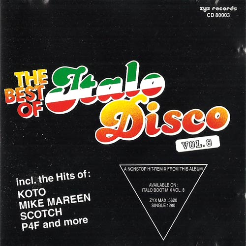 Albert One / Various - For Your Love / The Best Of Italo Disco Vol. 8